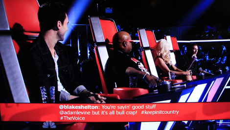 The Voice - How hashtags assit Digital Marketing2
