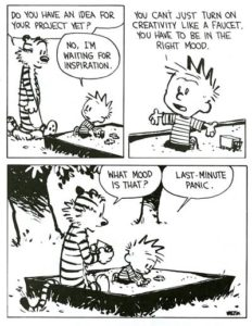 How right you are, Calvin.