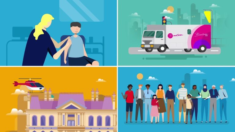 Animated Explainer Video – NSW HEALTH | Punchy Digital Media