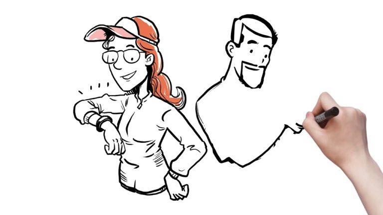 Whiteboard animation – Uni Melb Behavioural Change | Punchy Digital Media